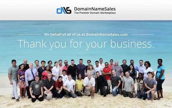DomainNameSales.com_thankyou_message