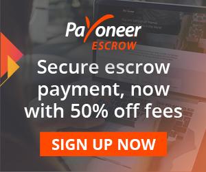 Payoneer escrow service domain escrow service